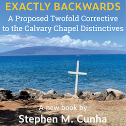 New book from the Chrysostom Institute  - Exactly Backwards